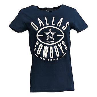NFL Women's Jr Top Dallas Women's Short-Sleeve T-Shirt Black A369309