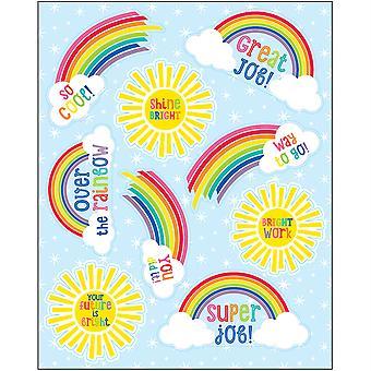 Hello Sunshine Motivational Stickers, 54 Stickers
