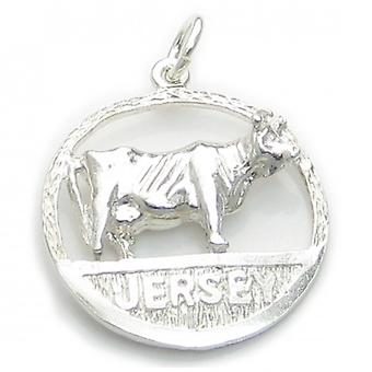 Jersey Sterling Silver Charm .925 X 1 Country Island Charms - 6212