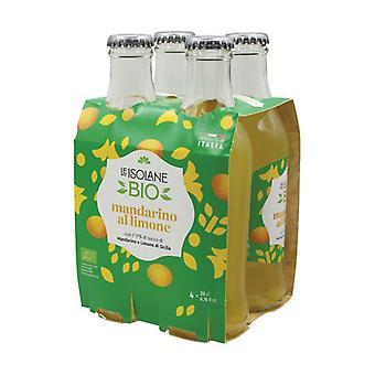 Mandarin Lemon Alcohol Free Drink 4 units of 200ml