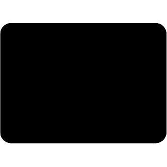 Tuftop Large Textured Worktop Saver, Black 50 x 40cm