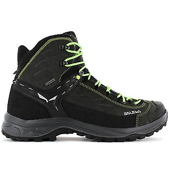 Salewa MS Hike Trainer Mid GTX - Gore-Tex - Men's Hiking Boots Trekking Boots Black 61336-0972 Sneakers Sports Shoes