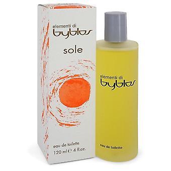 Byblos elementi Sole Eau de Toilette Spray by Byblos 4 oz Eau de Toilette Spray