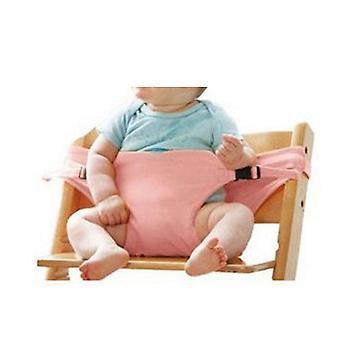 Vauvan kannettava lounastuoli istuin venyttää wrap ruokailutuoli turvavyö