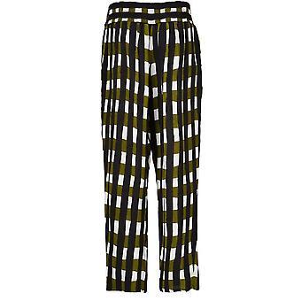 Masai Clothing Pai Check Print Trousers