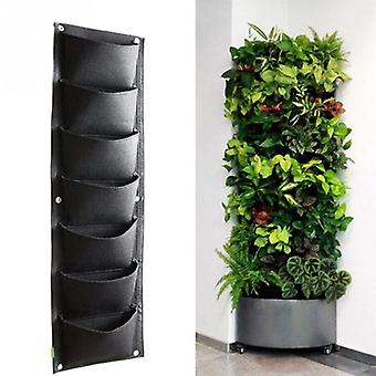 Vertical Garden Planter Grow Bag, Wall-mounted Planting, Flower Bags, Vegetable