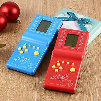 Klassische Tetris Handheld Lcd elektronisches Spiel (zufällige Farbe)