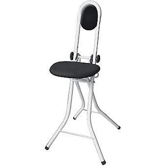 HanFei Stehhilfe Secura, Bgelstehhilfe mit Sitzkissen und Rckenkissen, Stehstuhl, hhenverstellbar,