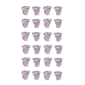 Oaktree UK Ltd - Boy Footprints Pearl Blue Stickers