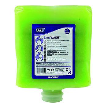 Deb Lim2Lt Solopol 2 Litre Lime