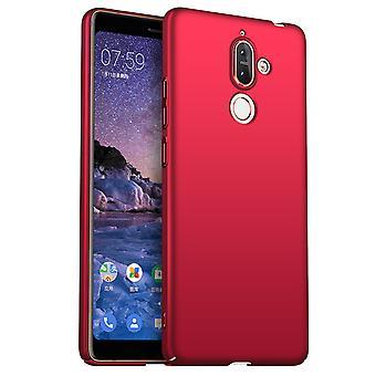 Erittäin ohut kotelo Nokia 7plus anti fall iskunkestävä kansi punainen kc702