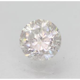 Sertifioitu 1,26 karat E SI2 pyöreä brilliant parannettu luonnollinen löysä timantti 6,49mm