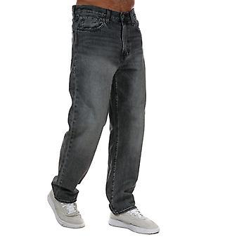 Herren Levis Stay Loose Chicken Fry Jeans in Grau
