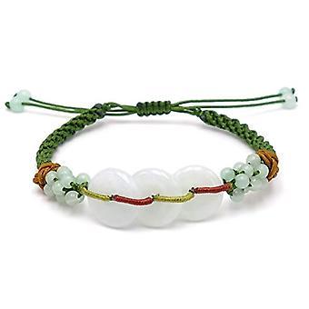 Benava, Tibetan bracelet with yoga Amazon pearls, friendship bracelet, green turquoise