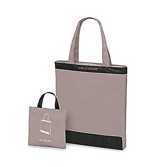 Moleskine Journey Packable Tote Bag, Opvouwbare en Hersealable Bag in Praktische Tas, Pastel Roze