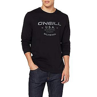 O'NEILL Olsen - Men's T-shirt, Men's T-shirt, 9P2104, Black, XS