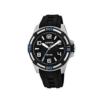 Calypso Watches Analog Watch Unisex Adult Quartz With Plastic Strap K5760/5