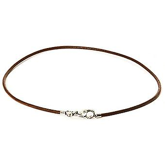 Trollbeads Necklace Collana Cuoio Marrone 45 cm