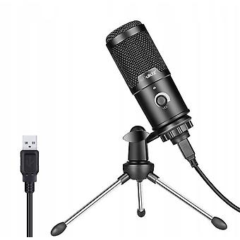 Computer Usb Condenser Microphone Set For Recording