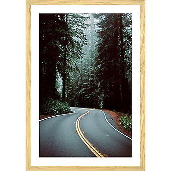 "Poster photo paysage montagne ""oregon"""