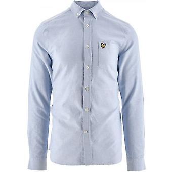 Lyle en Scott Riviera Regular Fit Lichtgewicht Oxford Shirt