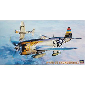 Republic Aviation P-47D-25 Thunderbolt Diecast Model Airplane Kit
