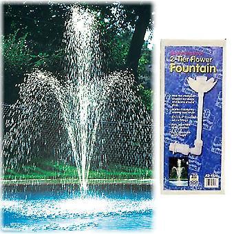 JED 90-930 Backyard Two-Tier Flower Fountain