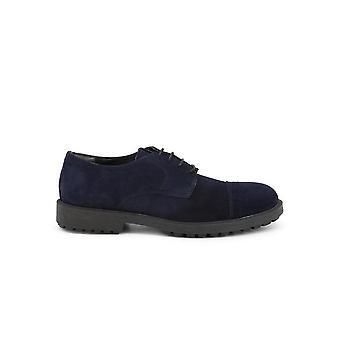 Duca di Morrone - Shoes - Lace-up shoes - 900D-CAMOSCIO-BLU - Men - navy - EU 44
