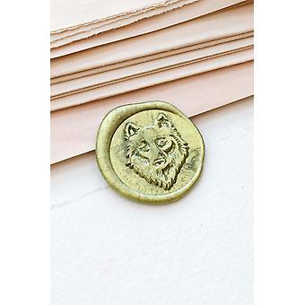 Wolf Hoofd Wax Seal Stamp / wax Seal Stamp Kit