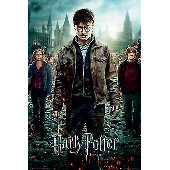 Harry Potter 7 Del 2 Ett ark Maxi Affisch