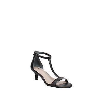 Alfani | Chiarra Leather Open Toe Formal T-Strap Sandals