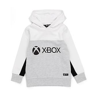 XBOX Huppari pojille & tytöille   Lasten Valkoinen Harmaa Pelikonsoli Logo Huppari   Lasten lasten lasten takki vaatteet kauppatavara