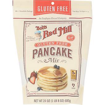Bobs Red Mill Mix Pannkaka Glutenfri, Fodral på 4 X 24 Oz
