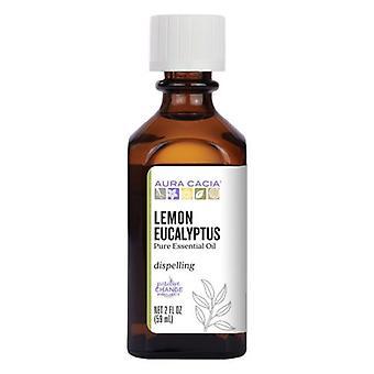 Aura Cacia Essential Oil Eucalyptus, Lemon, 2 Fl Oz
