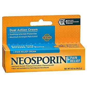 Neosporin Neosporin + Pain Relief Cream Maximum Strength, 0.5 oz