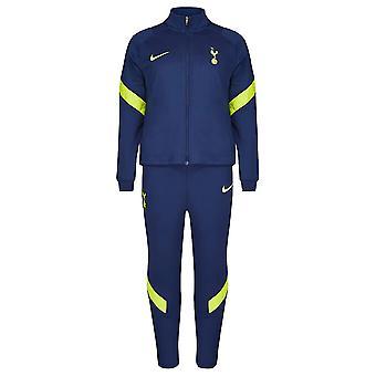 توتنهام 2021-2022 سترايك بدلة رياضية (البحرية) - ليتل كيدز