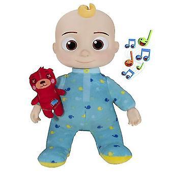 Singing Cocomelon Bear Child, Jj Music Style Plush Doll