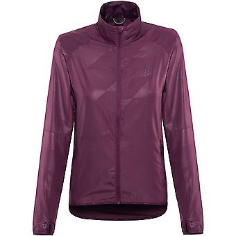 Craft Eaze Women's Running Jacket, Tune