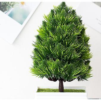 النباتات الاصطناعية شجرة صغيرة الفن الرئيسية / حديقة / مكتب ديكو النباتات البلاستيكية وهمية