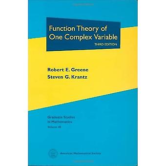 Function Theory of One Complex Variable, Vol. 40