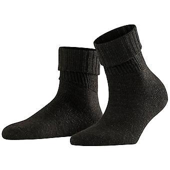 Falke Striggings Rib Socks - Antraciet Melange Grey