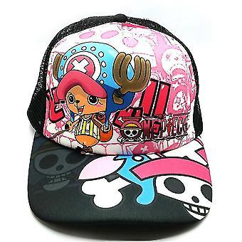 One Piece Man Baseball Cap Hat Luffy Naruto Sports Cap Casual Cotton Snapback Hat Sunshade Net