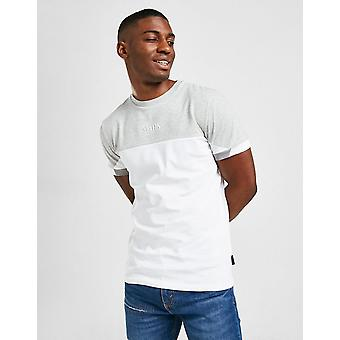 New STATUS Men's Shade Short Sleeve T-Shirt from JD Outlet White