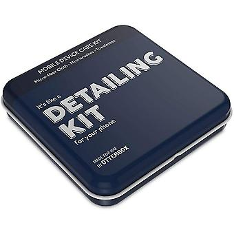 """OtterBox Device Care Kit, Mobile Phone Cleaning Accessories with Alcohol Wipes - """"Detail Kit"""" - Blue"""