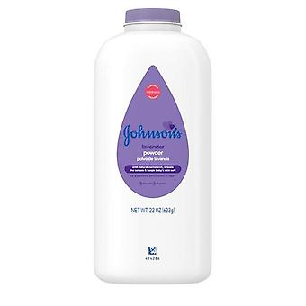 Johnson's Lavender Baby Powder with Naturally Derived Cornstarch 22 oz