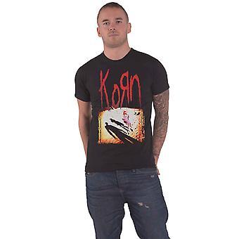 Korn T Shirt Korn Album Cover Band Logo Official Mens New Black