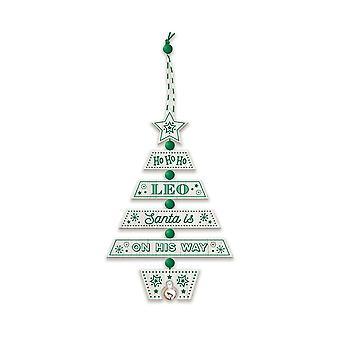 التاريخ وهيرالدري عيد الميلاد شجرة الديكور - ليو 269800528 اليد الخشبية وضعت