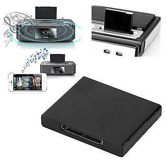 Bluetooth A2dp Musik Empfänger Adapter für Ipod für Iphone 30pin Dock Lautsprecher