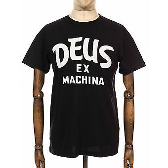 Deus Ex Machina Curvy Tee - Black
