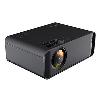 Pico projektor pre Android 4k 3d Hd 1080p 12000 Lumen Led Wifi Bt Hdmi-čierna